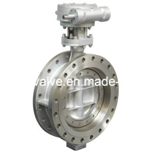 Tri Eccentric Flange End Butterfly Valve