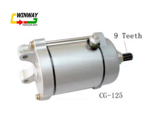 Ww-8842 OEM Quality 12V, Cg-125 Motorcycle Starter Motor, 9 Teeth pictures & photos