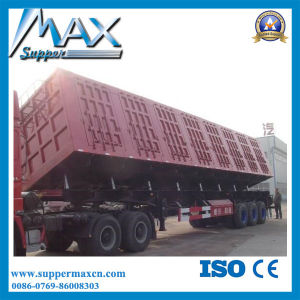3 Axle Side Wall Cargo Semi Trailer Sale in Africa pictures & photos