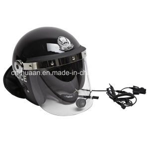 Police Riot Control Helmet Anti Riot Helmet with Visor pictures & photos