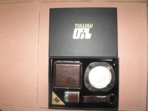 Tullow Oil Executive Business Gift Lighter, Ashtray, Cigarret Box Set pictures & photos