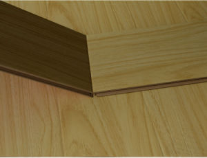 Best Quality Synchronized Walnut Laminate Flooring pictures & photos