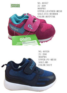 No. 49357 Children Sport Stock Shoes Comfort Shoes pictures & photos