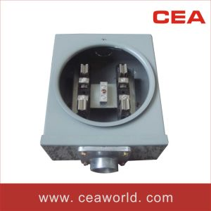 Gtfp-100A-4j Meter Socket with Hub pictures & photos