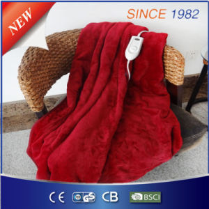 ETL 110V Heated Throw with 3 Setting for Us Market pictures & photos