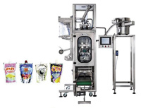Stand-up Capped Pouch Automatic Liquid Packing Machine pictures & photos