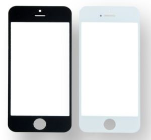 for iPhone5 Glass Lens Touch Screen White and Black pictures & photos
