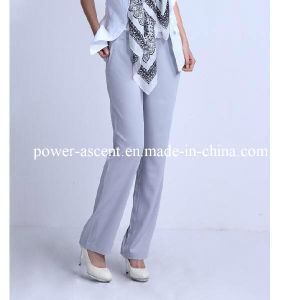 Women′s Spring/Autumn Wrinkle-Free Formal Business Pants Suit Pants pictures & photos