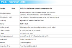 RO-PLC Controller for Industrial RO Purification System pictures & photos
