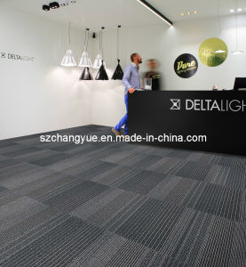 Nylon Commercial Modular Carpet Tiles with PVC Backing pictures & photos