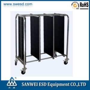 ESD PCB Plastic Plate Trolley (3W-9806201-1) pictures & photos