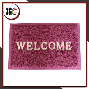 3G PVC Welcome Door Mat with 3G Logo pictures & photos