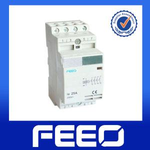 Household 2p 4p 230V 240V 25A Modular Contactor pictures & photos