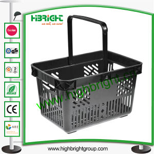 Grocery Store Plastic Hand Carry Shopping Basket for Sale pictures & photos