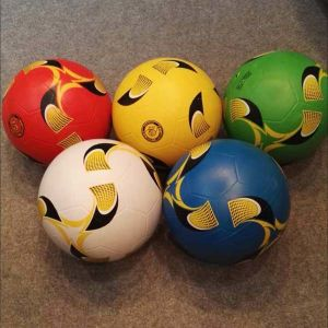New Design Rubber Soccer Ball pictures & photos