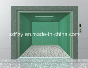 Fujizy High Quality and Safety Small Machine Room Goods Elevator with Ce Certificate pictures & photos