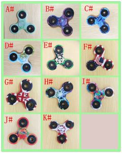 New 2017 Camouflage 3D Fidget Hand Finger Spinner EDC Focus Toy pictures & photos