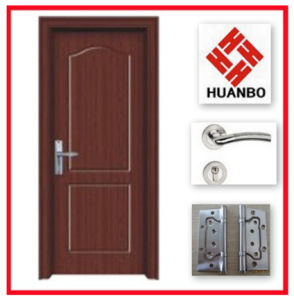 New Design Flush MDF Wood PVC Flat Door Design Hb-116