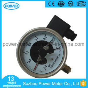100mm All Stainless Steel Electric Contact Vacuum Pressure Gauge pictures & photos