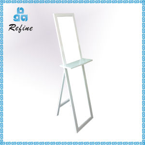 Cheap Modern Mirror with Shelf for Cosmetic