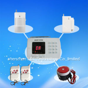 Wireless 99 Zone Auto Dial Phone Burglar Home Security Alarm System (L&L-808B-2)