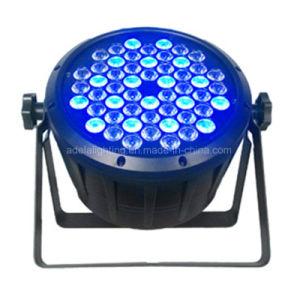Plastic 54X3w RGBW LED PAR Light pictures & photos