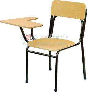 Classroom Furniture Student Sketching Chair with Pad pictures & photos