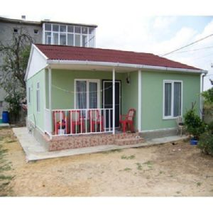 African Easy Assembled Colorful Prefabricated House/ Living Building pictures & photos