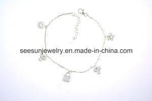 New Arrival 925 Silver Jewelry Beautiful Bracelet pictures & photos