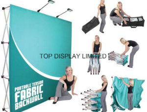 Factory Wholesale Portable Easy-Assembly Modular Green Exhibition Display Trade Show Booth Advertising Equipment Booth Promotion Pop up Display Stand pictures & photos