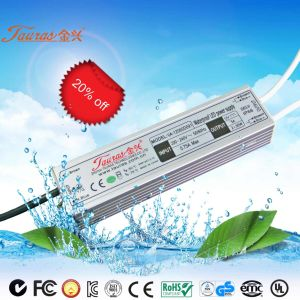 60W Constant Voltage 24V Waterproof LED Power Supply Va-24060d091