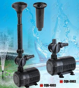 Pond Submersible Pump (CQB-4003) with CE Approved pictures & photos
