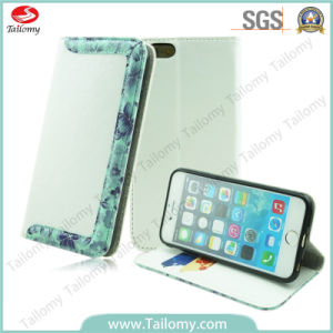 New Fashion Lace Leather Smart Flap/Stand/Wallet Case for iPhone6 Plus pictures & photos