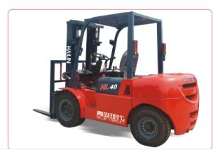 CPC-40 Diesel Forklift Truck pictures & photos