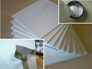 Gypsum Board Factory Direct Sales of Plastic Edge-Friendly Decoration with White Latex pictures & photos