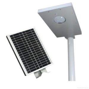 All in One Integrated Solar LED Street Light for Outside pictures & photos