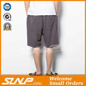 Men′s Woven Linen/Cotton Shorts