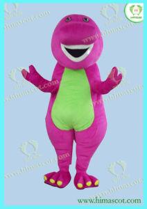 Hi En71 Barney Cartoon Mascot Costume