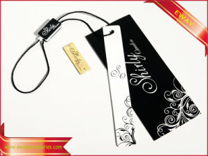 Women Dresses Paper Hang Tag Logo Hang Tag pictures & photos