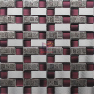 Modern Style Metal Mix Crystal Mosaic Tile (CFM1080) pictures & photos