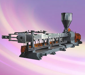 Two Shaft Labortary Extruder, Plastic Extruder, 600rpm, Output: 20-80kgs/H, Motor: 11-22kw
