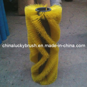 PP Material Yellow Road Sweeper Roller Brush (YY-021) pictures & photos
