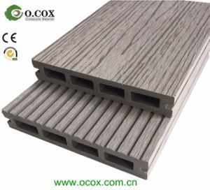 WPC Decking Wood Plastic Composite Flooring Wood Grained WPC Decking pictures & photos