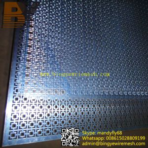Galvanized / Stainless Steel / Aluminum Perforated Metal Sheet pictures & photos