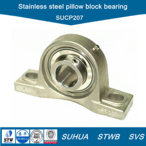 Stainless Steel Pillow Block Bearing with Stainless Steel Housing (SUCP207) pictures & photos