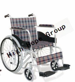 High Hope Medical - Aluminium Alloy Manual Wheelchair-Ky864ly pictures & photos