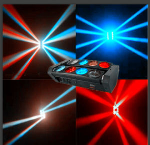 LED RGBW 4in1 Spider Beam Stage Lighting Party Lighting pictures & photos