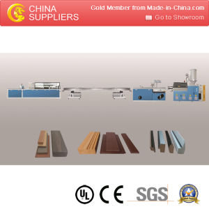 PS Foam Photo Picture Frame Extrusion Making Machine Line pictures & photos