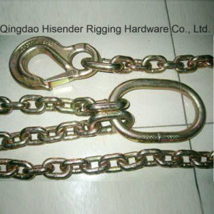 G80 Chain with Master Link and G80 Hook, Bind Lashing Chain, Barge Chain, Log Boom Chain pictures & photos