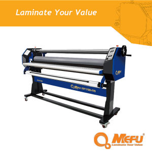 MEFU Factory Supply Mf1700-M5 Hrat-Assist Cold Laminator with Hand Crank pictures & photos